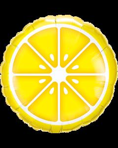 Sliced Lemon Folienform Rund 18in/45cm