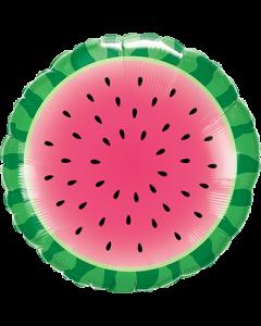 Sliced Watermelon Folienform Rund 18in/45cm