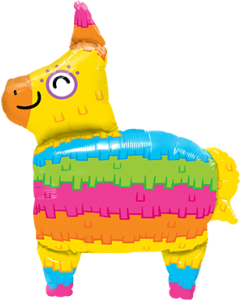 Rainbow Pinata Folienfiguren 34in/86cm