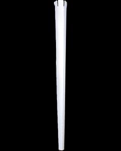 Papier Ballon Ecostab Weiß 14in/36cm