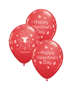 Me To You - Tatty Teddy Valentines Day Standard Red Latexballon Rund 11in/27.5cm