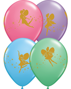 Fairies & Sparkles Special Sortiment Latexballon Rund 11in/27.5cm