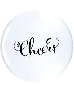 Simply Cheers ACHTUNG!!! TOPPRINT Standard White Latex Rund 11in/27.5cm