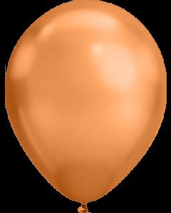 Chrome Copper Latexballon Rund 11in/27.5cm