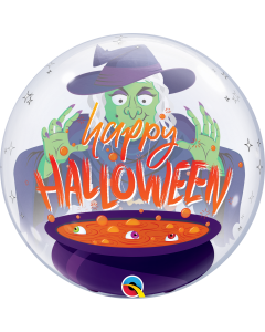Halloween Witch's Brew  Single Bubble 22in/55cm