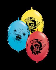 Marvel's Ultimate Spider-Man Standard Red, Standard Yellow und Fashion Robins Egg Blue Sortiment QuickLink 12in/30cm