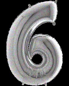 6 Holographic Folienzahlen 26in/66cm
