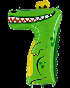 Crocodile Zahlen 40in/100cm
