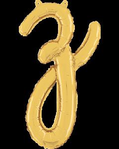 Z Script Gold Folienbuchstabe 24in/61cm