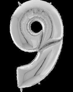 9 Gigaloon Silver Folienzahlen 64in/162cm