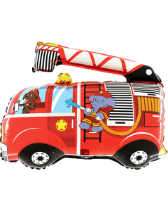 Firetruck Folienfiguren 30in/75cm