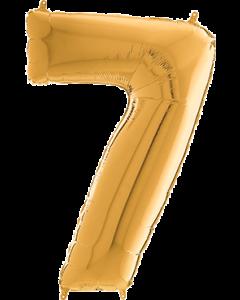 7 Megaloon Gold Folienzahlen 40in/100cm