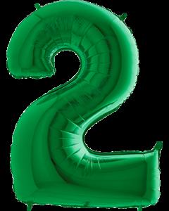 2 Green Folienzahlen 40in/100cm