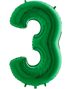3 Green Folienzahlen 40in/100cm