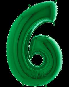 6 Green Folienzahlen 40in/100cm