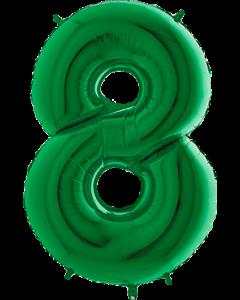 8 Green Folienzahlen 40in/100cm