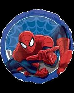 Spiderman Folienform Rund 18in/45cm