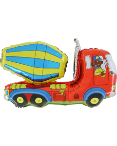 Cement Truck Folienfiguren 30in/75cm