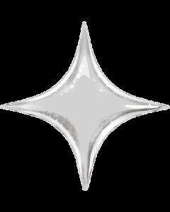 Silver Folienform Starpoint 40in/100cm