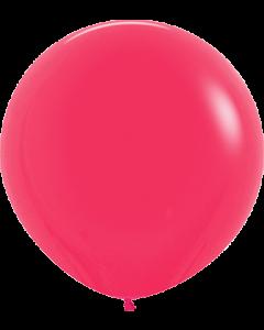 Fashion Raspberry Latexballon Rund 24in/60cm