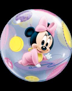 Baby Minnie Single Bubble 22in/55cm