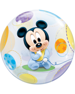 Baby Mickey Single Bubble 22in/55cm
