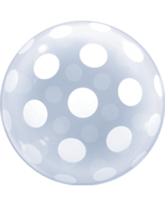 Deco Bubble Big Polka Dots 20in/50cm