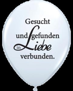 Lieblich Gesucht & Gefunden Standard White Latexballon Rund 16in/40cm