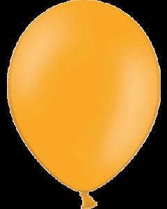 Pastel Orange Latexballon Rund 11in/27.5cm