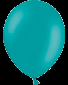 Pastel Turquoise Latexballon Rund 11in/27.5cm