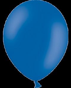 Pastel Royal Blue Latexballon Rund 11in/27.5cm