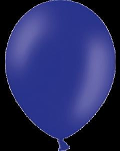 Pastel Night Blue Latexballon Rund 11in/27.5cm