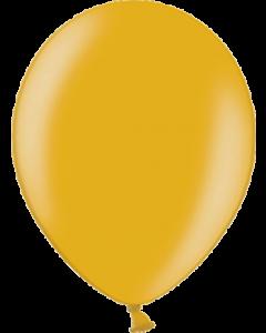 Metallic Gold Latexballon Rund 11in/27.5cm