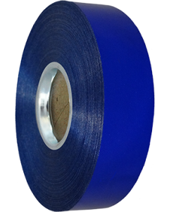 Kräuselband Blue Metallic 31mm x 100m