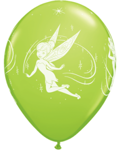 Disney Tinker Bell Fashion Lime Green Latexballon Rund 11in/27.5cm