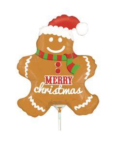 Gingerbread Man Mini 14in/36cm