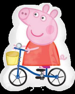 Peppa Pig Vendor Folienfiguren 19in/48cm x 23in/58cm