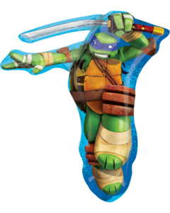 TMNT Leonardo Vendor Folienfiguren 25in/63cm x 28in/71cm