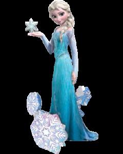 Elsa The Snow Queen Airwalker 35in/88cm x 57in/144cm