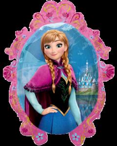 Frozen - Anna/Elsa Vendor Folienfiguren 20in/51cm x 27in/69cm