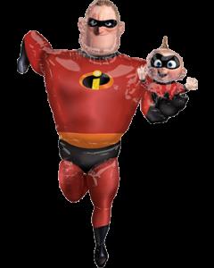 Incredibles 2 Mr Incredible 35in/88cm x 67in/170cm