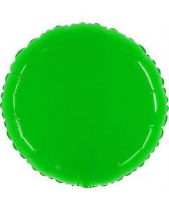 Shiny Fluo Hot Lime Folienform 21in/53cm