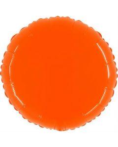 Shiny Fluo Orange Folienform 21in/53cm