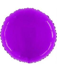 Shiny Fluo Purple Folienform 21in/53cm