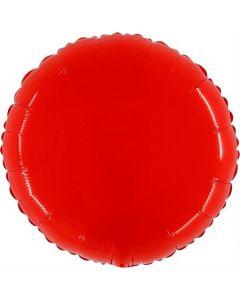 Shiny Fluo Red Folienform 21in/53cm