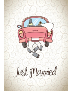 Flugkarten - Just Married