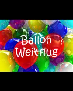Flugkarten - Ballon Weitflug