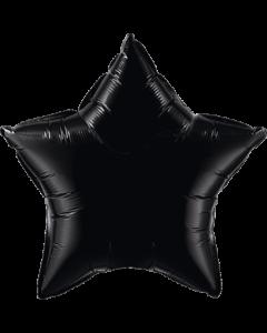 Onyx Black Folienform Stern 9in/22.5cm