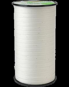 Kompostierbares Kräuselband Weiß 5mm x 100m