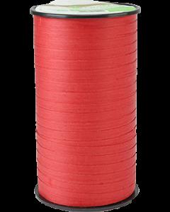 Kompostierbares Kräuselband  Rot 5mm x 100m